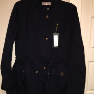Jackets & Blazers - Navy Utility Jacket